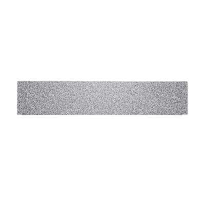 12 in. x 60 in. Solid Surface Barrier-Free Shower Floor Ramp in Arctic Granite