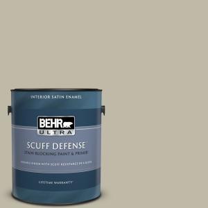 Behr Ultra 1 Gal Bxc 19 Historical Ruins Extra Durable Satin Enamel Interior Paint Primer 775401 The Home Depot