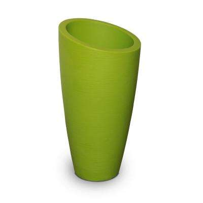 Modesto 32 in. Macaw Green Plastic Planter