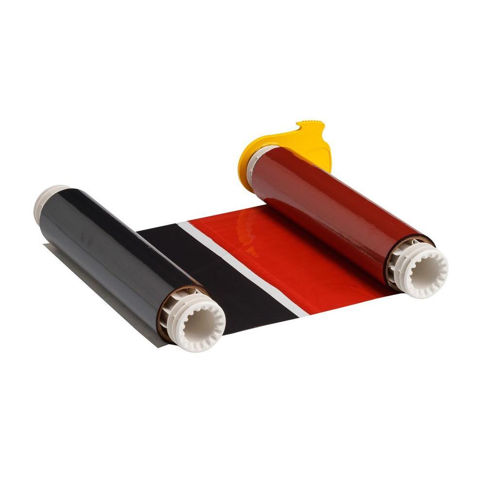 PowerMark Industrial Grade Black/Red Print Ribbon