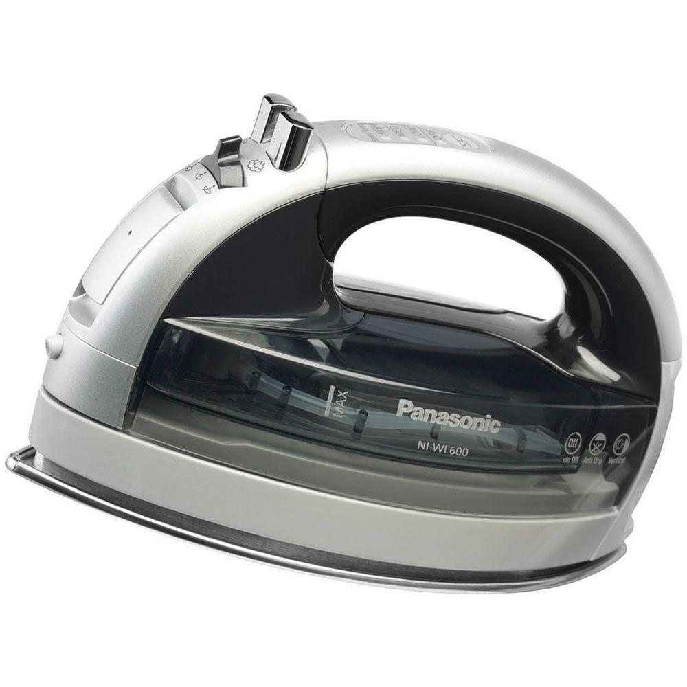 Panasonic Concept 360 Degree Freestyle Steam/Dry Iron with Curved Stainless Steel Soleplate-DISCONTINUED