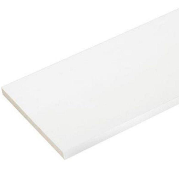 1/2 in. x 12 in. x 8 ft. Reversible White Cellular PVC Fascia (3-Piece per Box)
