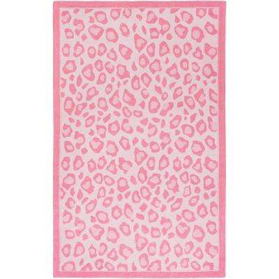 Joselynn Bright Pink 3 Ft X 5 Area Rug