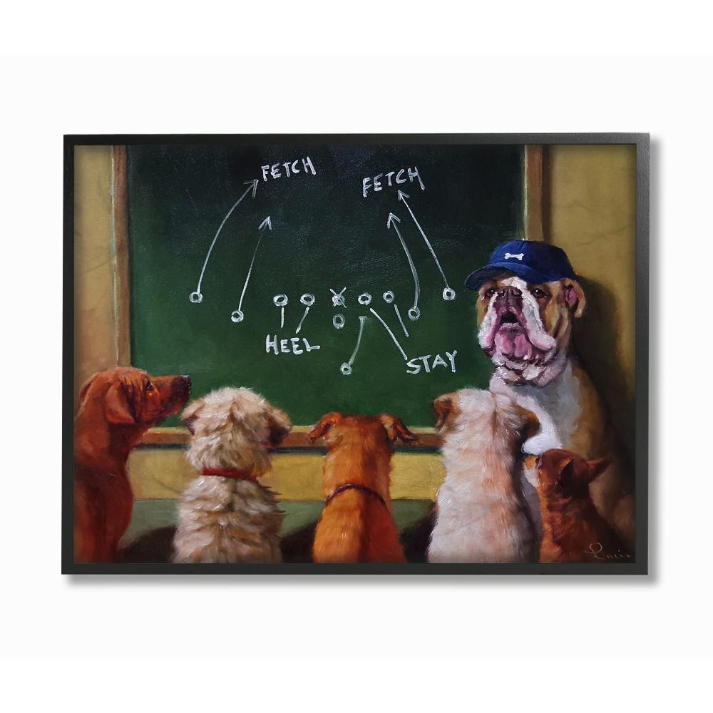 Boxer Dog Cigar Top Hat Framed CANVAS PRINT Square Wall Art