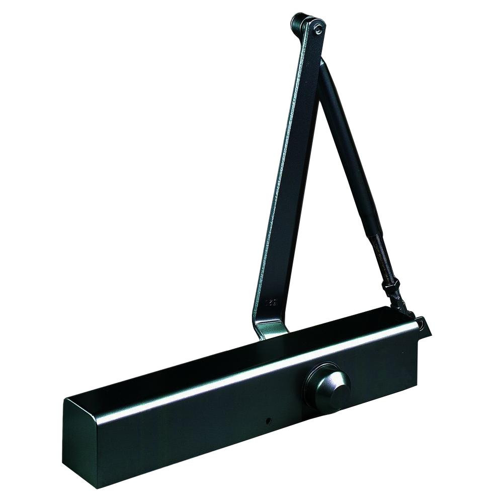 Commercial Slim Line Door Closer in Duronotic - Sizes 2-6