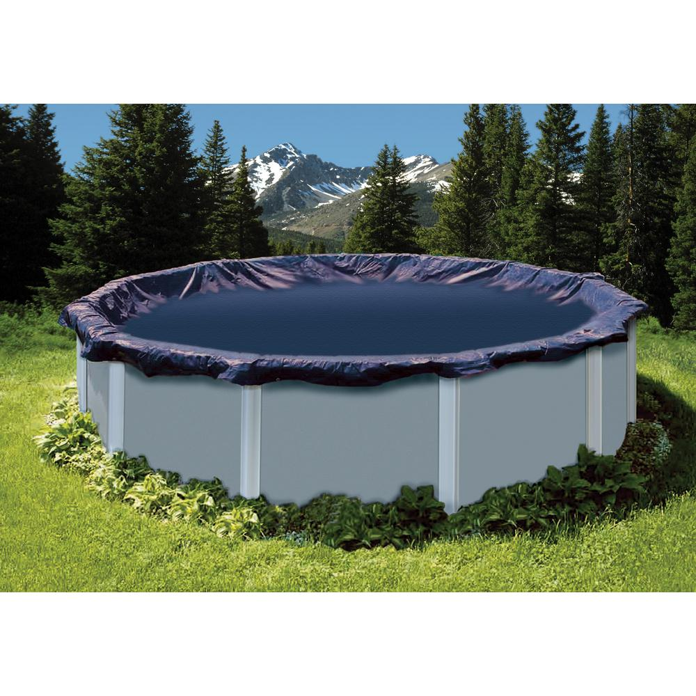 Reviews For Superguard 21 Ft Round Winter Pool Cover Spagwc21 The Home Depot