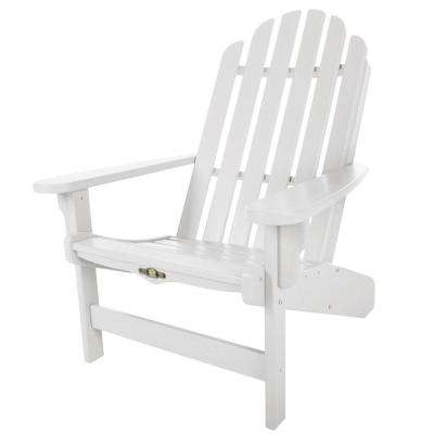 Durawood Essentials Adirondack Chair in White