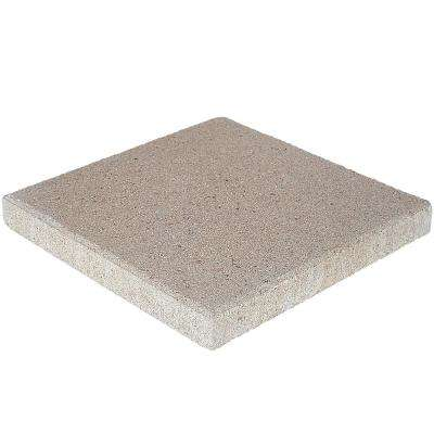 16 in. x 16 in. x 1.77 in. Pewter Square Concrete Step Stone (84-Pieces/149 sq. ft./Pallet)