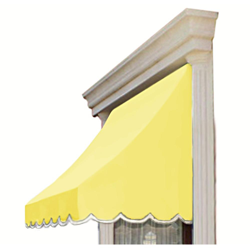AWNTECH 30 ft. Nantucket Window/Entry Awning (56 in. H x 48 in. D) in Light Yellow