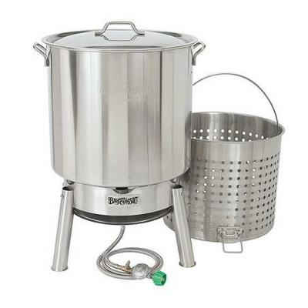 82 qt. Stainless Steel Bayou Boiler Cooker Kit