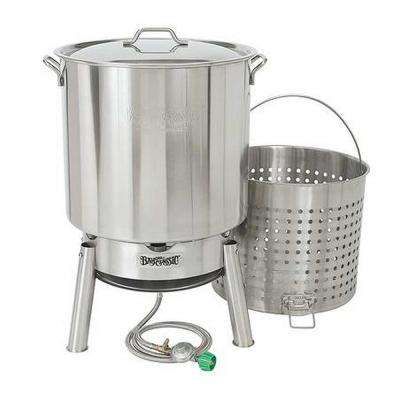 82 Qt. Stainless Boiler Kit