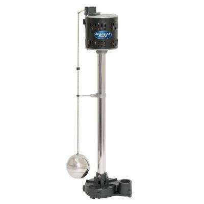1/3 HP Cast Iron Pedestal Sump Pump