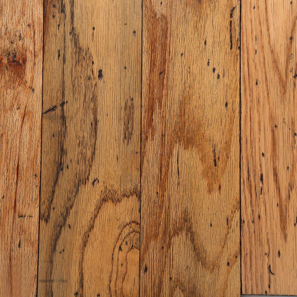 Distressed Oak Toast 3/8 in. T x 5 in. W x Random Length Engineered Hardwood Flooring (25 sq. ft./case)