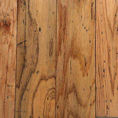 Distressed Oak Toast 3/8 in. Thick x 5 in. Wide Varying Length Engineered Hardwood Flooring (25 sq. ft. / case)