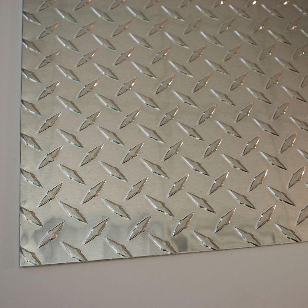 ".080 Aluminum Diamond Tread Plate 18/"" x 24/"""