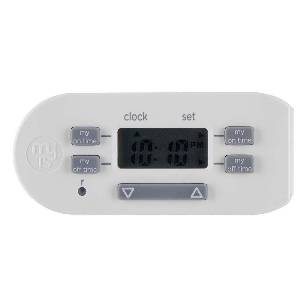 Simple Set 2-On/Off Indoor Digital Plug-In Bar Timer