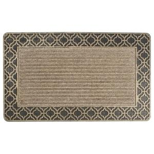 Entryways Ogee in Gold Weather Beater 18 inch x 30 inch Polypropylene Door Mat by Entryways