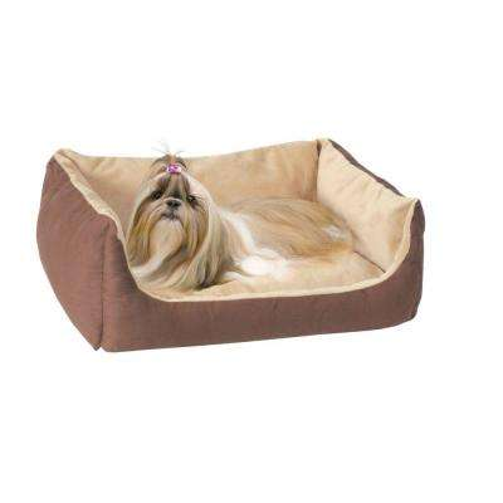 Thermo-Pet Cuddle Cushion Small-Medium Mocha Heated Dog Bed