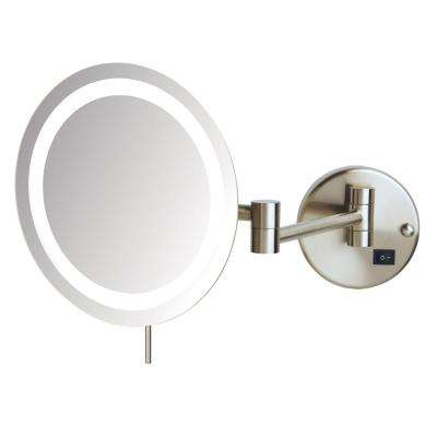 10 in. x 10.5 in. Single LED Lighted Wall Mirror