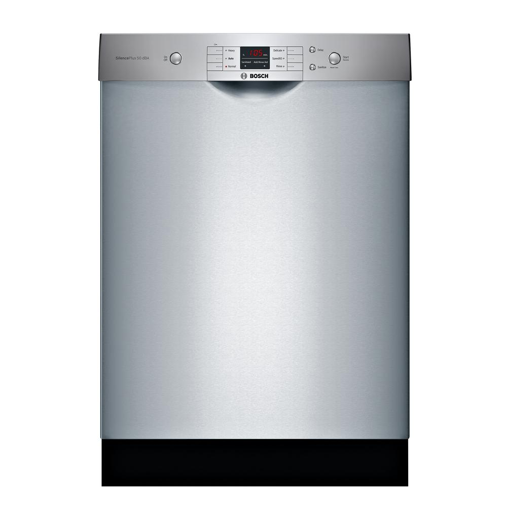 100 Series Front Control Tall Tub Dishwasher in Anti-Fingerprint Stainless Steel