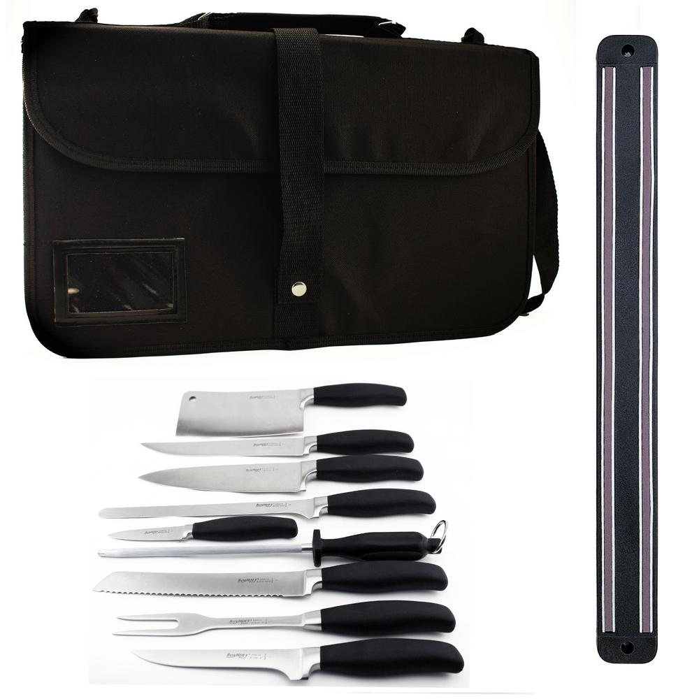Orion 10-Piece Knife Set with Magnetic Rack