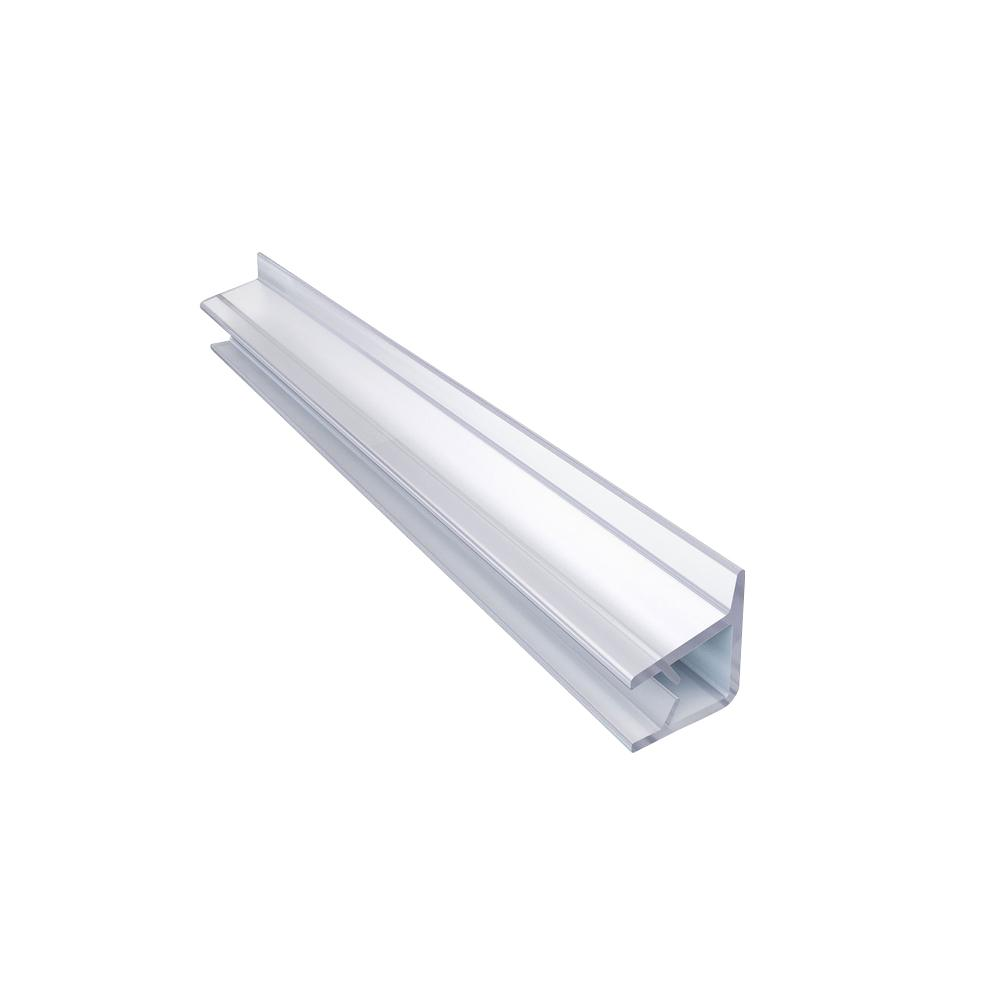69-5/8 in. L Clear Vinyl Seal with a Flexible Fin for