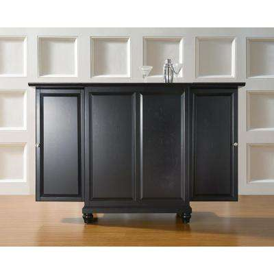 Cambridge Black Bar with Expandable Storage