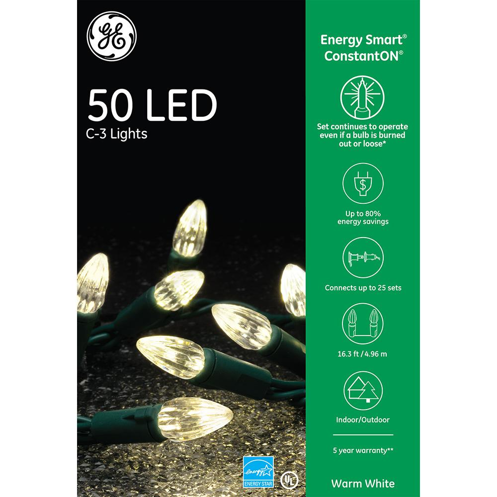 Ge Energysmart Colorite 50 Light Led Warm White C3 97256hd