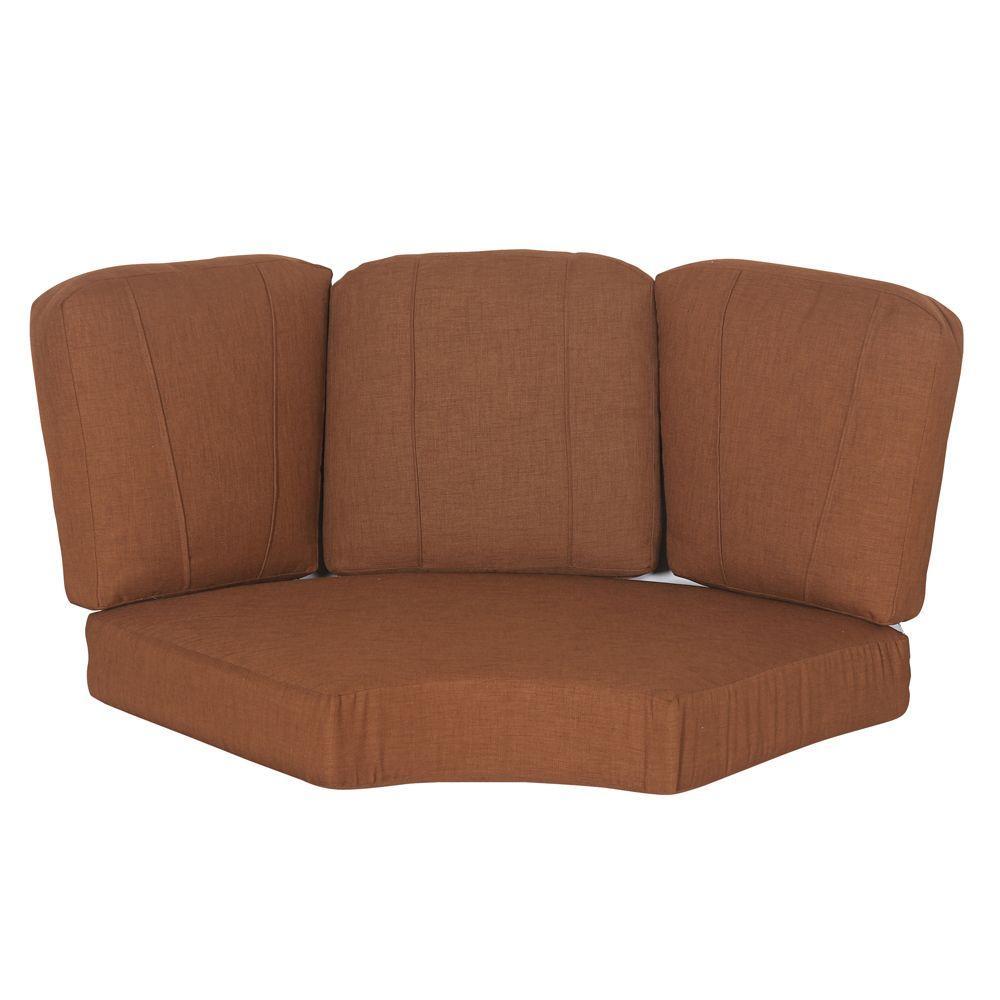 Cedarvale 18.89 x 20.47 Outdoor Sectional Cushion in Standard Nutmeg