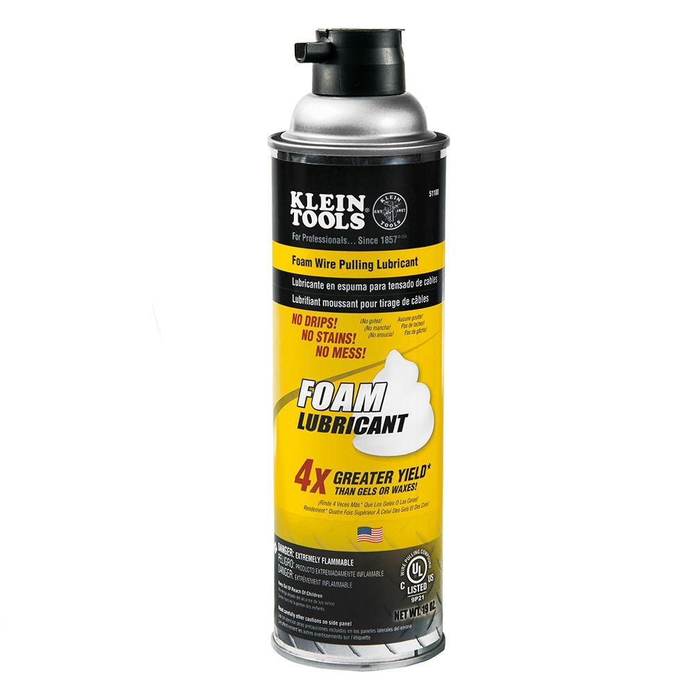 Klein Tools 19 oz. Foam Wire Pulling Lubricant-51100 - The Home Depot