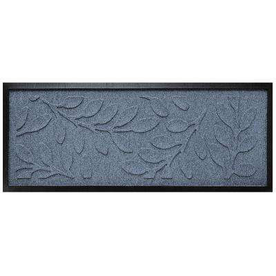 Bluestone 15 in. x 36 in. Brittany Leaf Boot Tray
