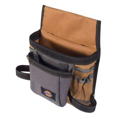 8-Pocket Construction Tool Pouch / Holder, Tan