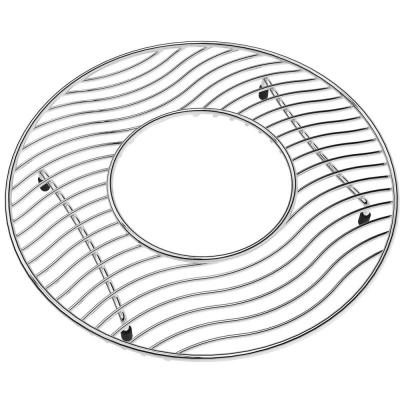 Lustertone 11 in. x 11 in. Bottom Grid for Kitchen Sink in Stainless Steel