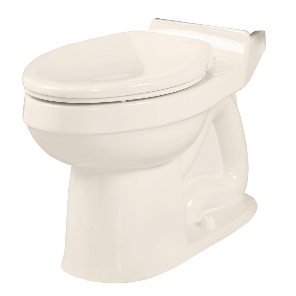American Standard Champion 4 Elongated Toilet Bowl Only in Linen