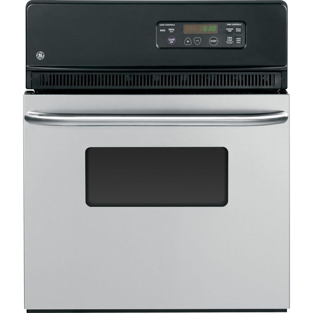Single Electric Wall Oven In Stainless Steel