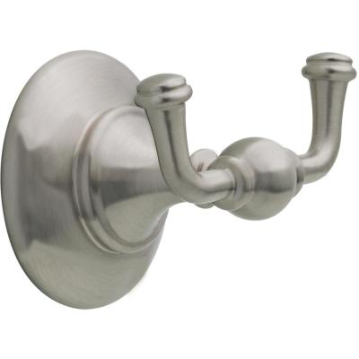Greenwich II Towel Hook in SpotShield Brushed Nickel
