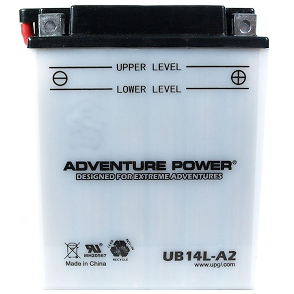 UPG Conventional Wet Pack 12-Volt 14 Ah Capacity D Terminal Battery