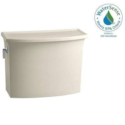 Archer 1.28 GPF Single Flush Toilet Tank Only with AquaPiston Flushing Technology in Biscuit