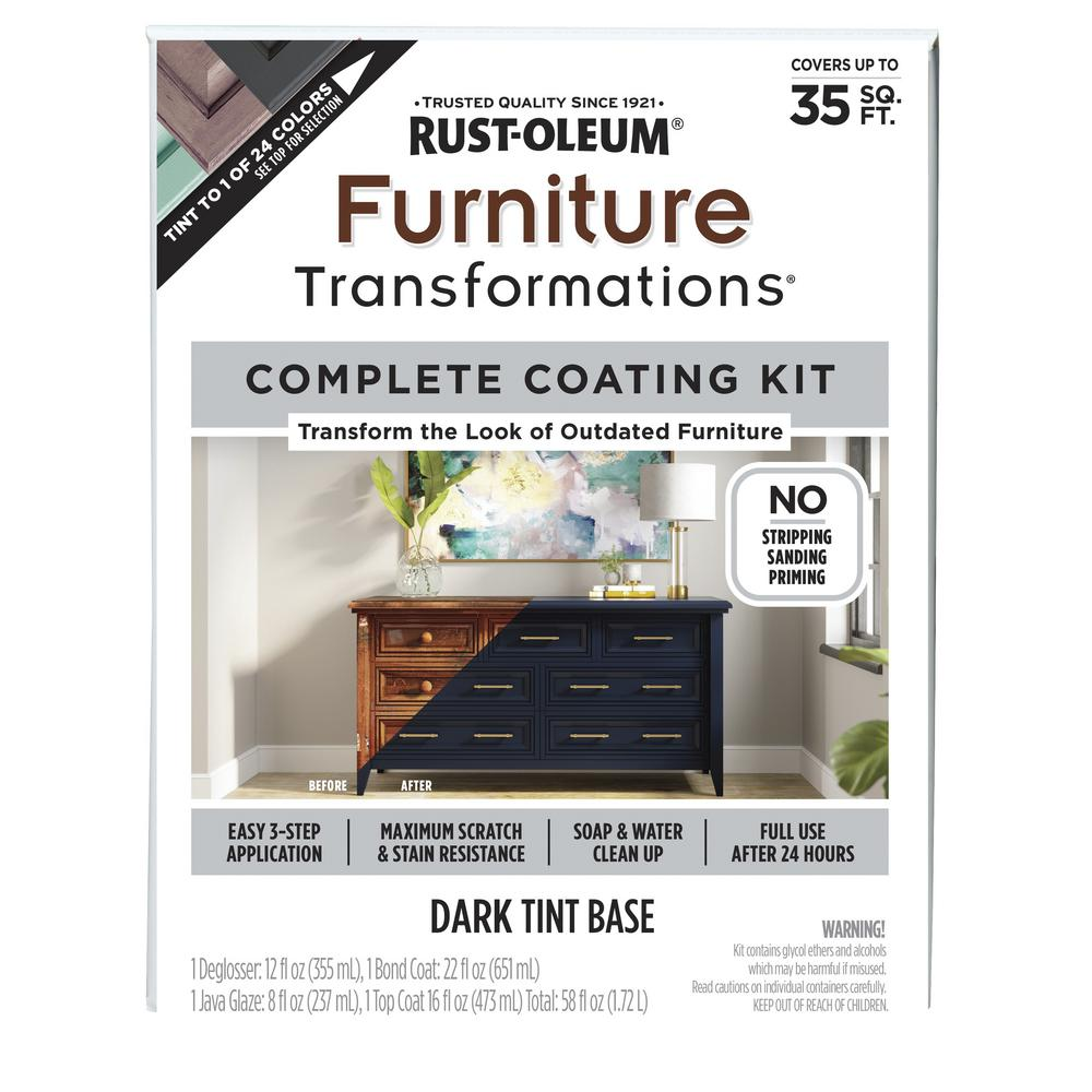 Rust Oleum Transformations Furniture Transformations Kit 266043 The Home Depot