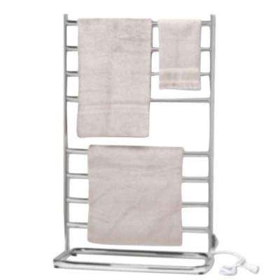 Hyde Park 40 in. Towel Warmer in Satin Nickel