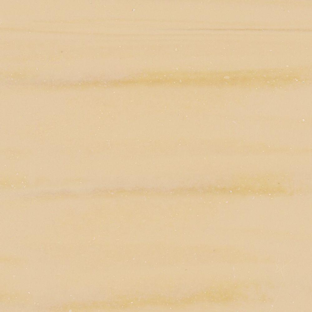 Solieque 4 in. x 4 in. Solid Surface Vanity Finish Sample in Maple Molto
