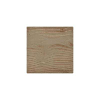 6 in. x 6 in. Sandstone Honey Dew Endurathane Faux Wood Ceiling Beam Material Sample