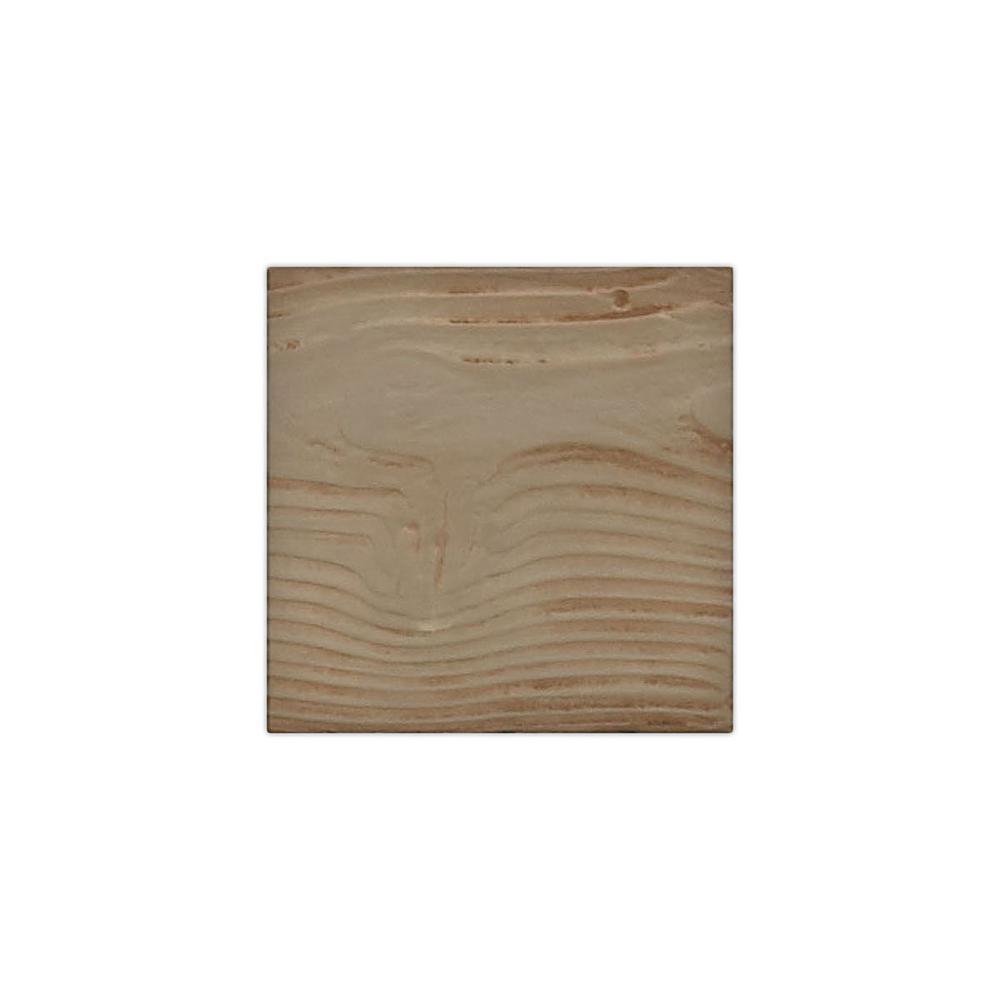 6 in. x 6 in. Sandstone Honey Dew Endurathane Faux Wood Ceiling Beam Material Sample
