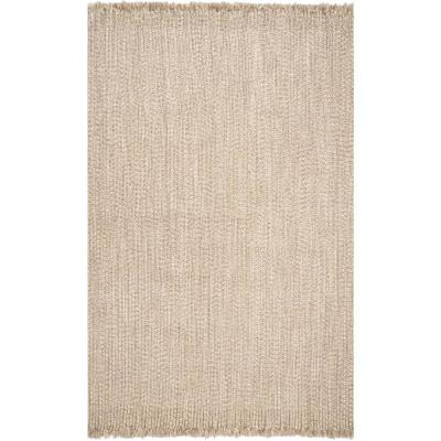 Courtney Braided Tan 2 ft. x 3 ft. Indoor/Outdoor Area Rug