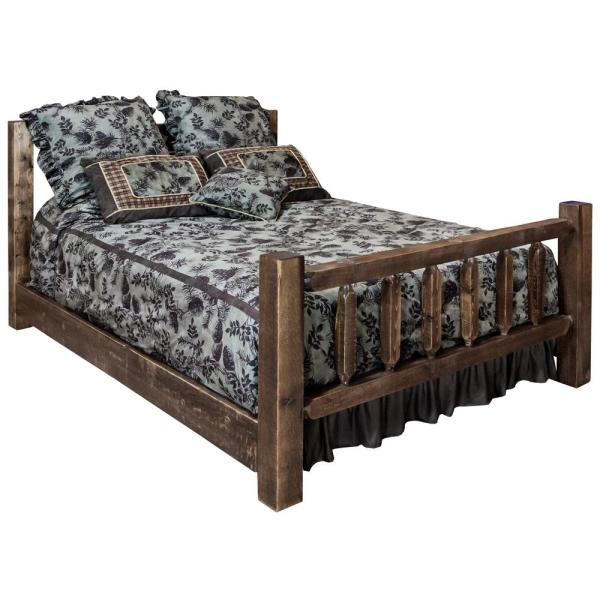 Montana Woodworks Homestead Collection Medium Brown California King Bed MWHCCAKBSL