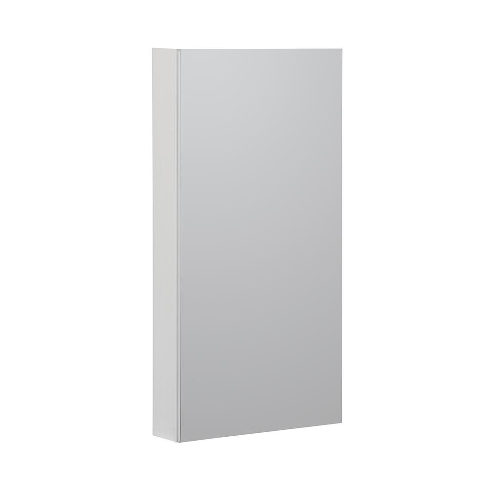 Home Decorators Collection Reflections 15 In W X 36 In H Recessed Or Surface Mount Medicine