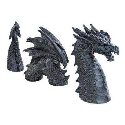 14.5 in. H The Dragon of Falkenberg Castle Moat Lawn Statue