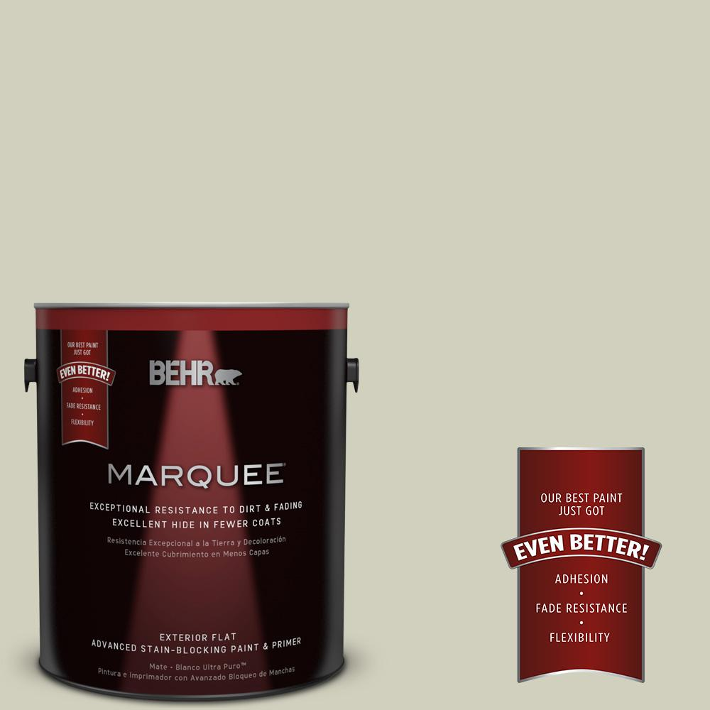 1-gal. #400E-3 Mountain Haze Flat Exterior Paint