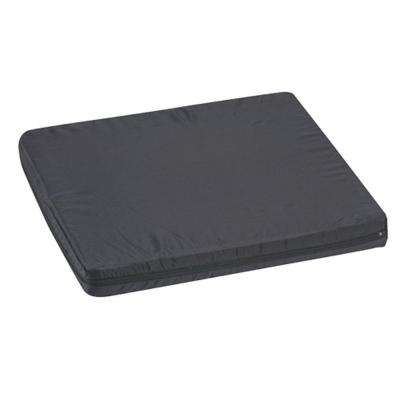 Duro-Med Nylon Oxford Covered Latex Wheelchair Cushion in Black