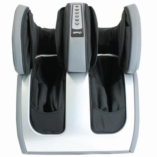 Osaki Foot and Leg Personal Massager in Silver